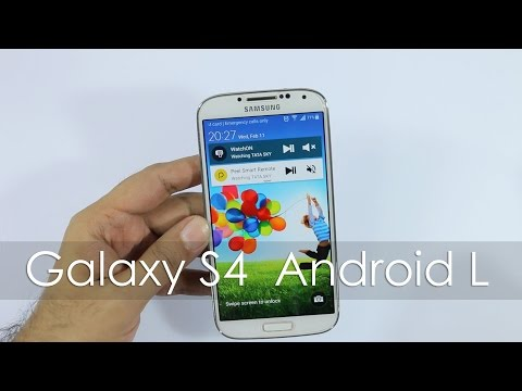 Samsung Galaxy S4 Android 5 Lollipop OTA Update First Looks