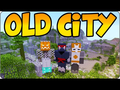 Minecraft PS3, PS4 Hunger Games -The Old City - Incredible Multiplayer PVP Map Console Edition