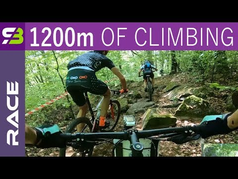Full MTB Race. 1200 Meters Of Climbing, Great Descends!
