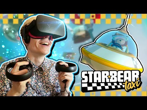VR TAXI SIMULATOR! | Starbear: Taxi (Oculus Touch + Subpac Gameplay)