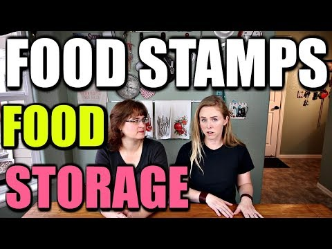 How to Get Off Food Stamps Using Food Storage!