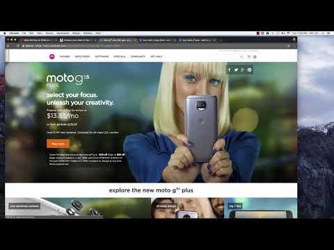 Motorola G5, G5S, X, and E Smartphone Deals