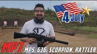 AJ Celebrates July 4th, 2019! [MP7, MP5K, G36C, Scorpion, Rattler!]
