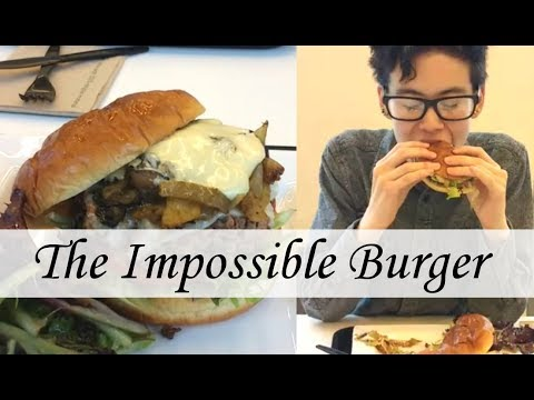 TRYING THE IMPOSSIBLE BURGER