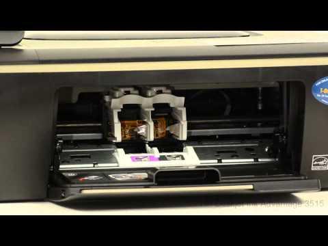HP Deskjet Ink Advantage 3515 - Installing Ink Cartridges For The First Time - Preview