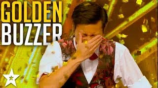 CRAZY MAGICIAN gets GOLDEN BUZZER!? | Asia