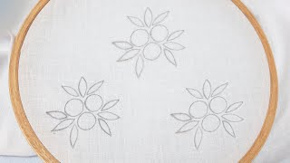 All Over Floral Embroidery Design Idea for Dress/Kurti/Shirt (Hand Embroidery Work)