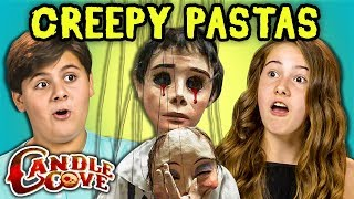 TWEENS READ CREEPY PASTAS - CANDLE COVE (REACT)