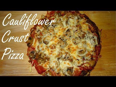 Easy Cauliflower Crust Pizza Recipe that Won't Fall Apart -