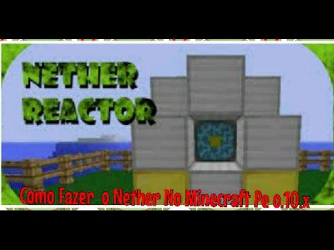 Como Fazer o Nether No Minecraft Pe [0.10.x-0.9.5-0.11.x]
