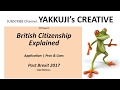 Apply for UK Citizenship 2017 ✔️ British Passport Application 2017 ✔️ Permanent Residence UK