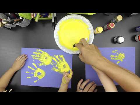How To Finger Paint A Fish