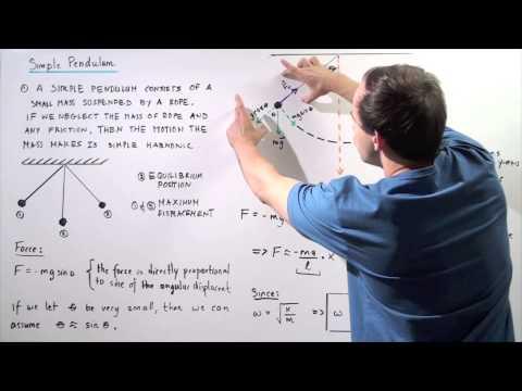 Simple Pendulum in Harmonic Motion