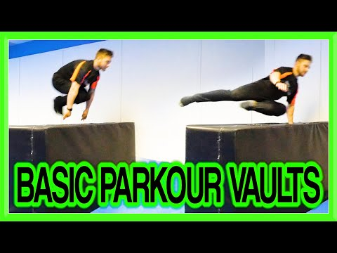 Parkour Basic Vaults Tutorial (Kong, Speed, Dash, Reverse, etc) | Fraser Malik