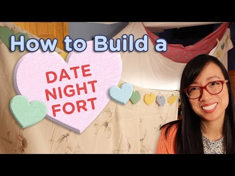 DIY: How to Build a Romantic Blanket Fort ⛺️  Forts n Crafts ⛺️  Good Palette
