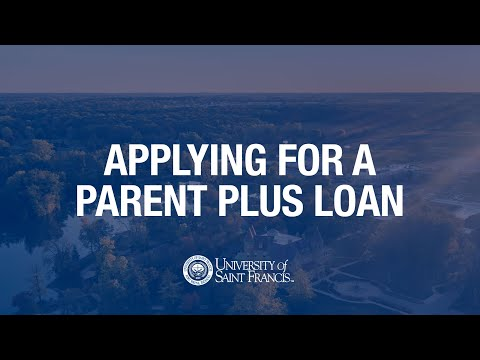 Applying for a Parent PLUS Loan