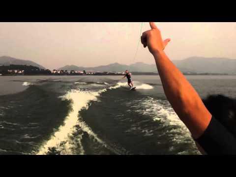 Wakeboarding basic tricks