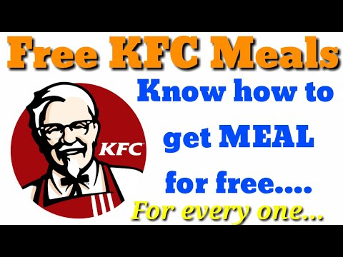 KFC meal for free | Don't miss | For Every One...