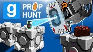 Gmod Ep. 56 PROP HUNT! - PORTAL EDITION! (Garry