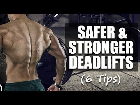 6 Tips To Eliminate Lower Back Pain From Deadlifts
