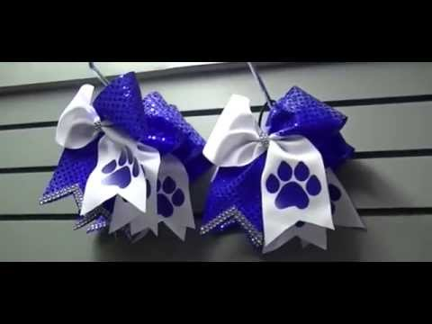 Cheer Bows - Custom Personalized Cheer Bows