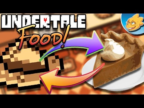 What's UNDERTALE Food Like In Real Life? Undertale Theory | UNDERLAB