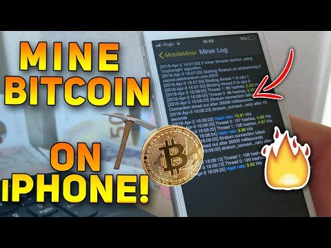 Best Cryptocurrency Mining Using iPhone Device! MobileMiner