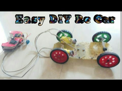 How to make wired RC car/ easy rc car