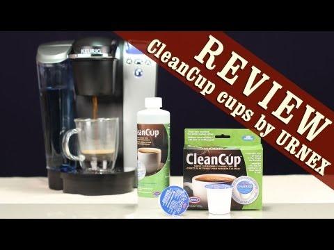 Easiest way to clean Keurig K-Cup Coffee Maker with Urnex CleanCup SingleCup Brewer Cleaning Cups