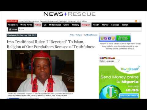 Christian State of Biafra is solution/antidote to islamisation of Christian Biafra
