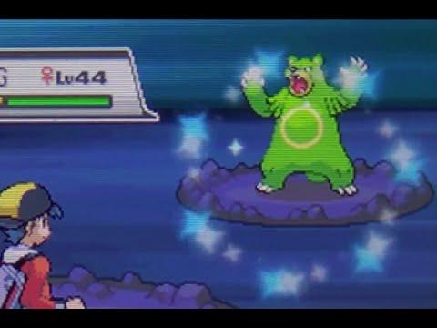 Live Shiny Ursaring After 3,347 REs! (Pokemon SoulSilver)