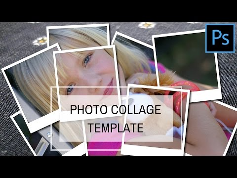 Create a Photo Collage Template in Photoshop