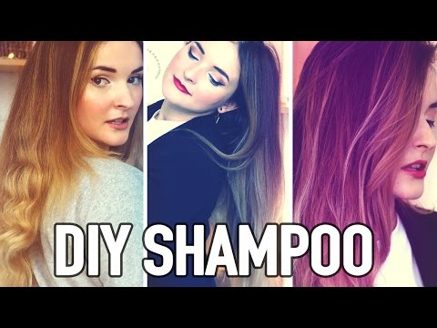 DIY NATURAL SHAMPOO | For Greasy Roots & Dry Ends