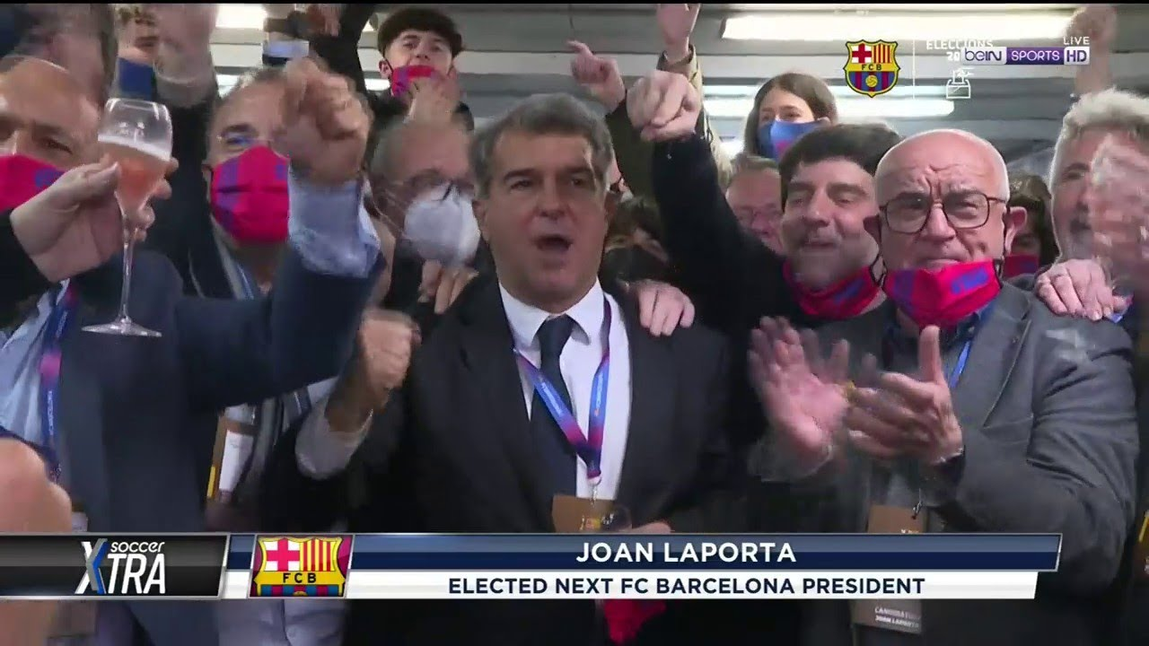 Joan Laporta Elected As FC Barcelona's Next President