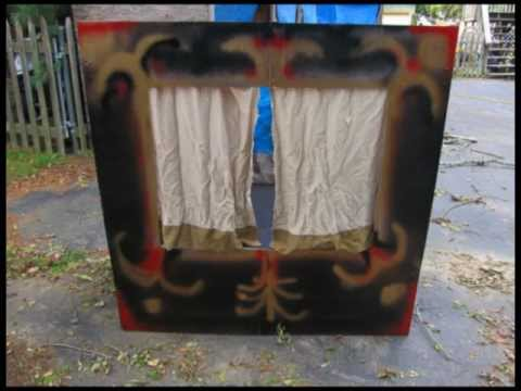 How to Make a Marionette Theatre