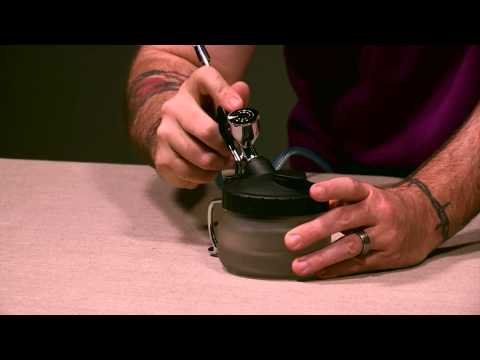 Using the Creative Air Airbrush Cleaning Pot