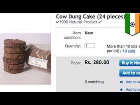 Popular presents: Shop online for cow dung cakes, delivered straight to your door - TomoNews