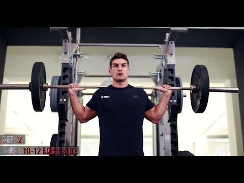 Ryan Terry Leg Workout - Day 4 HEART OF A CHAMPION