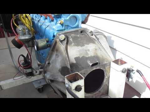 Homemade Engine Run Stand