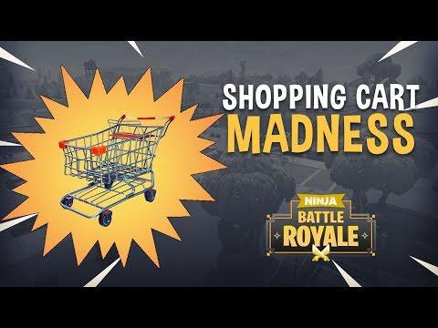 Shopping Cart Madness!! - Fortnite Battle Royale Gameplay - Ninja & TimTheTatman