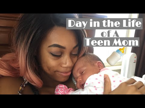 Vlog// Day in the Life of a Teen Mom - First Doc Appt, Valentine's Day | Parents at 18