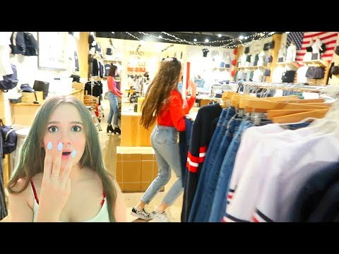 3 Outfits In 3 Minutes Brandy Melville Shopping Challenge... FionaFrills