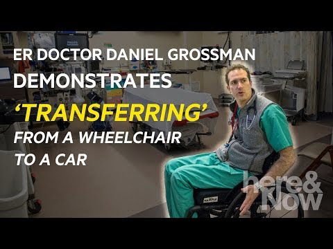 After Accident Left Him Paralyzed, ER Doctor Adjusts To Life In A Wheelchair