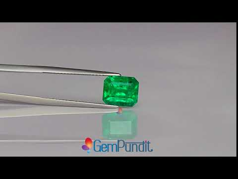 3.29 carats Emerald from Zambia - GRS Certified