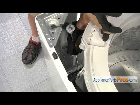 Washer Suspension Support Rod (part #DC97-16350C) - How To Replace