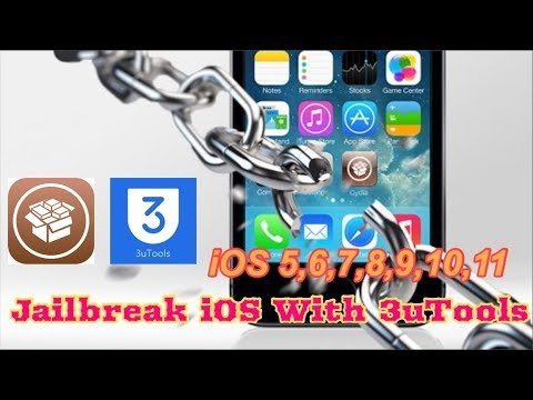 Jailbreak iOS 8.3, 8.2, 9, 10, 11 With 3uTools on iPhone, iPad, or iPod Touch