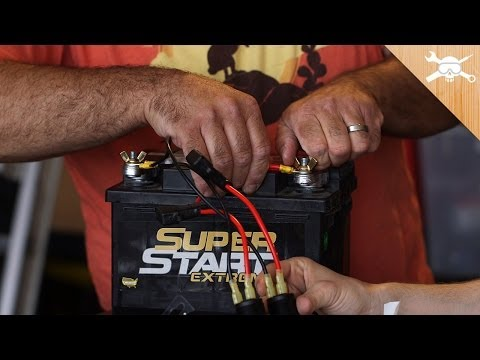 Turn a Car Battery Into an Emergency Power Charger