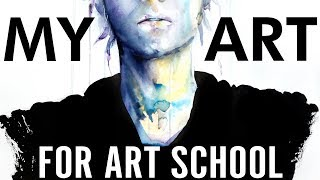 【What do you do in Art School?】Portfolio & 5 Years of Work