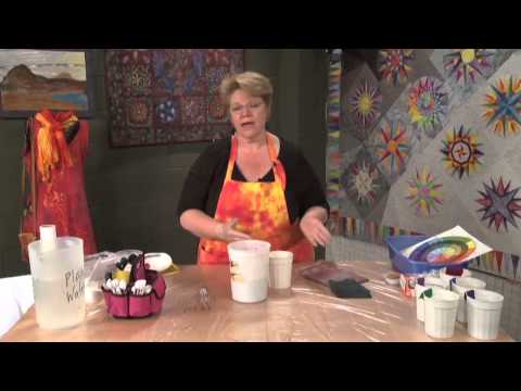 How to Make Dye for Fabric Dyeing  |  National Quilter's Circle