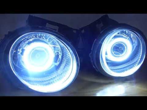 2011-2014 Nissan Juke Custom Headlight Retrofit w/Halos